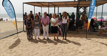 La Playa de La Antilla de Lepe (Huelva),  la más accesible de España
