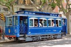 El Tramvia Blau de Barcelona suspèn el seu servei de dilluns al 9 de setembre per obres (EUROPA PRESS)