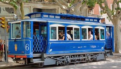 El Tramvia Blau de Barcelona suspèn el seu servei de dilluns al 9 de setembre per obres