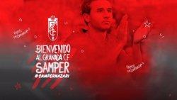 El FC Barcelona cedeix Samper al Granada i Douglas a l'Sporting (GRANADA CF)