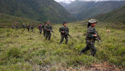 Colombia.- Las FARC empiezan a concentrarse en las zonas acordadas