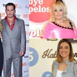 El drama de Aramís Fuster, la nueva disputa de Depp con Amber Heard y el enfado de Sandra Barneda