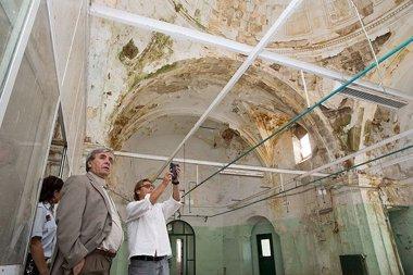 Foto: El futuro del antiguo convento de las Clarisas en la calle Alta, pendiente de un estudio (GOBIERNO DE CANTABRIA)