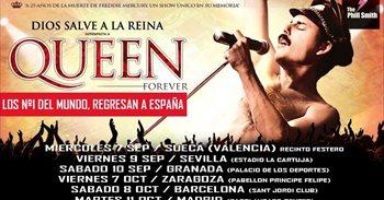 Extensa gira española de God Save the Queen