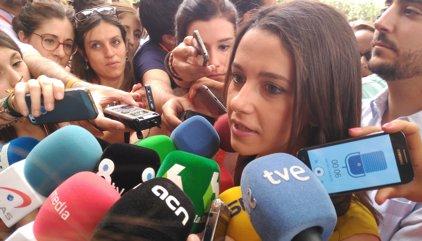 """Arrimadas (C's): """"El PP ha d'acceptar reformes i canvis"""""""