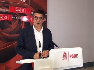 "Foto: ""El PSOE no se va a doblegar a las presiones de PP"", avisa Patxi López (EUROPA PRESS)"