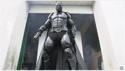 Este traje de Batman ha entrado en el Libro Guinness