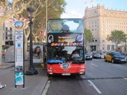 Hospitalitzat un noi atropellat per un Bus Turístic a Barcelona (EUROPA PRESS)