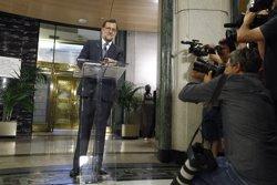 Rajoy diu que no ha signat l'acord amb Rivera per no incórrer en l'escenografia de Sánchez (EUROPA PRESS)