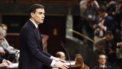 """Sánchez defenderá su """"no"""" a Rajoy recordando la corrupción del PP y criticando su acuerdo """"conservador"""" con C's"""