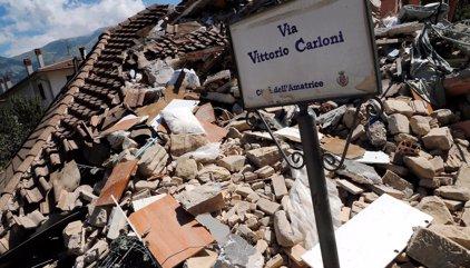 Registrado un nuevo seísmo de 4,3 a poca distancia de Amatrice (Italia)
