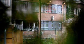 Cinco detenidos en relación con incendio intencionado en un instituto...
