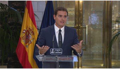 """Albert Rivera (C's):""""Estoy dispuesto a no tener credibilidad por el bien de este país"""""""