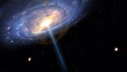 El centro de la Vía Láctea sufrió un reventón hace 6 millones de años