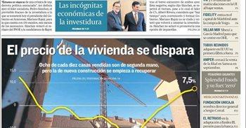 Las portadas de los periódicos económicos de hoy, martes 30 de agosto