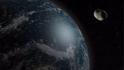 Un asteroide roza la Tierra sólo un día después de ser detectado
