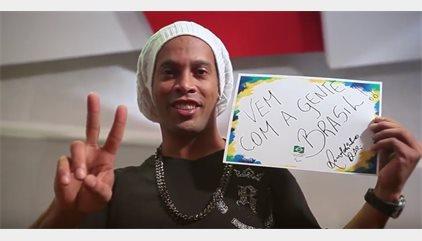 CORR.- Ronaldinho pone voz a los Juegos Paralímpicos de Río 2016