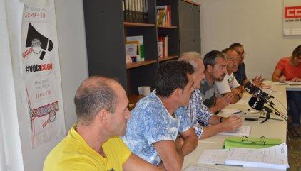 CCOO i UGT denuncien precarietat laboral en un escorxador del grup Vall Companys