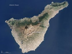 La NASA elegeix com a imatge del dia una fotografia de Tenerife (CEDIDA)