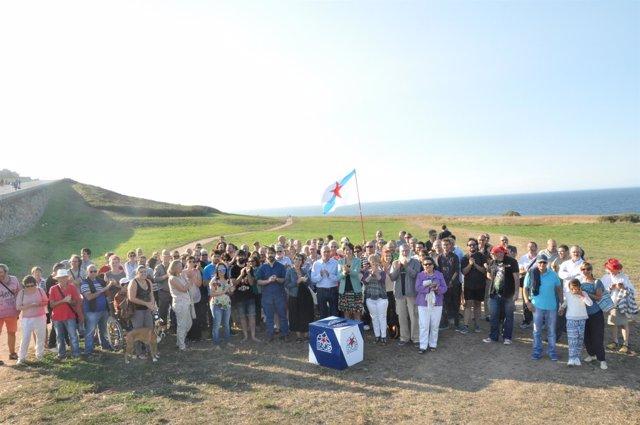 Presentación de la candidatura del BNG por A Coruña
