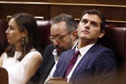 Rivera no preveu contactar amb Sánchez per demanar-li l'abstenció del PSOE (EUROPA PRESS)