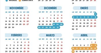 Calendario escolar 2016/2017 en Aragón