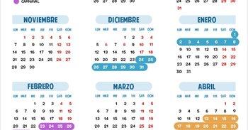 Calendario escolar 2016/2017 en Cantabria