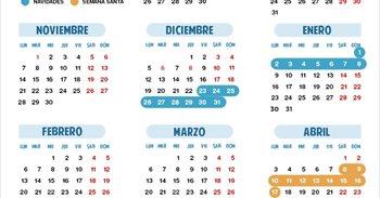 Calendario escolar 2016/2017 en Extremadura: Navidad, Semana Santa y...