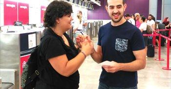 """Javier García, primer Erasmus con sordoceguera: """"Dicen que tengo..."""
