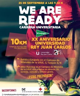 We are Ready, carrera del Circuito El Corte Inglés