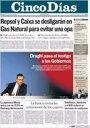 Foto: Las portadas de los periódicos económicos de hoy, viernes 9 de septiembre