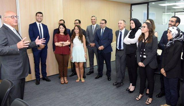 Banco sabadell ampl a su oficina en casablanca marruecos for Oficina 5488 banco sabadell