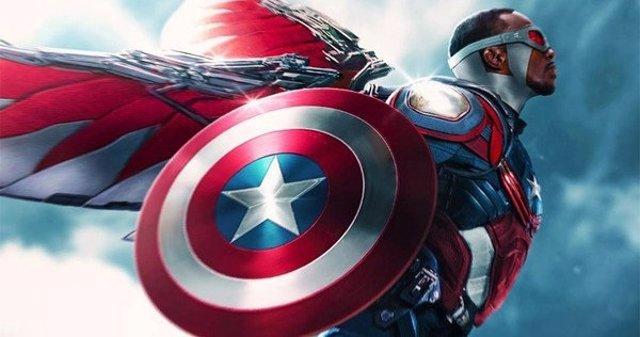Así sería el Halcón como Capitán América en Vengadores Pacific Rim Concept Art