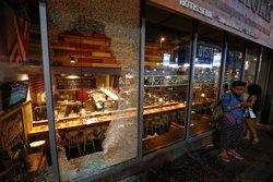 Estat d'emergència per les protestes en Charlotte (REUTERS / JASON MICZEK)