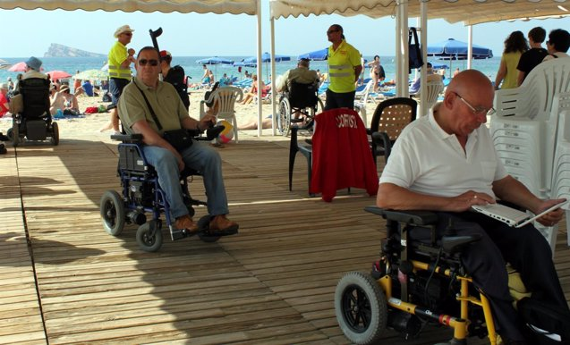 Foto: El perfil del viajero con discapacidad: dos viajes al año, prefiere España y gasta más (AYTO BENIDORM)