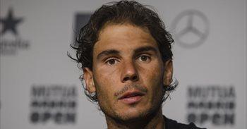 Rafa Nadal contra McEnroe, este domingo en un partido de dobles en Manacor