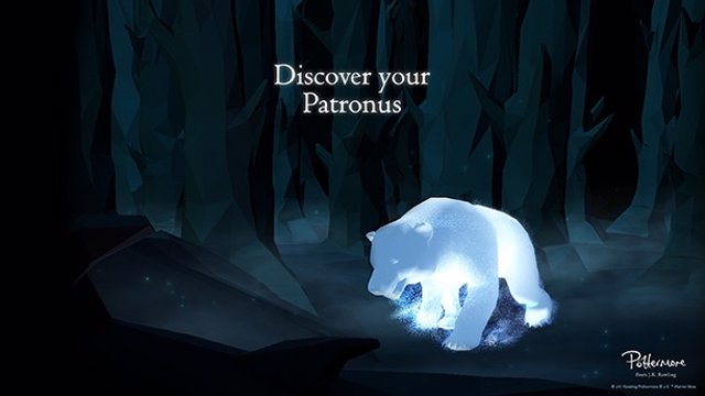 how to get pottermore patronus bacground