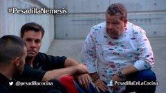 Chicote consigue salvar del hundimiento al Némesis en 'Pesadilla en la cocina'