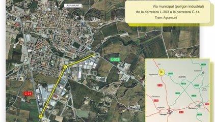Territori i Sostenibilitat adjudica els treballs de millora de la mobilitat a Agramunt