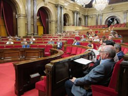 El Parlament viu una qüestió de confiança després de 2 mocions de censura en 1982 i 2001 (EUROPA PRESS)