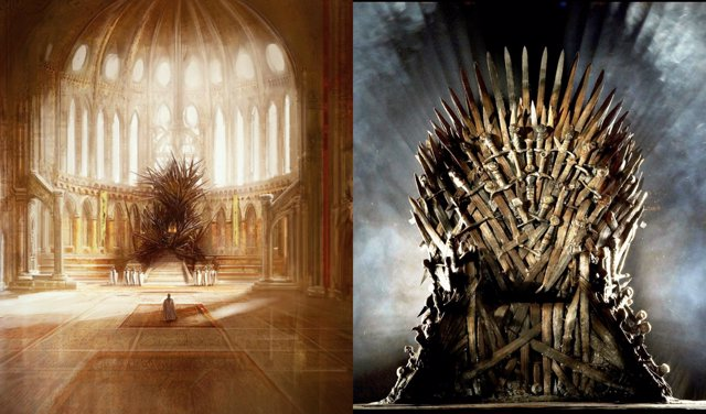 Juego de tronos es el trono de hierro fiel a las novelas - Trono de hierro ...