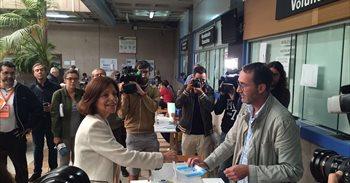 """Cristina Losada insta a votar para que """"cambie lo que no funciona"""""""