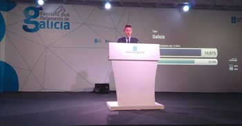 La participación en Galicia hasta las 12,00 horas se sitúa en el 15%