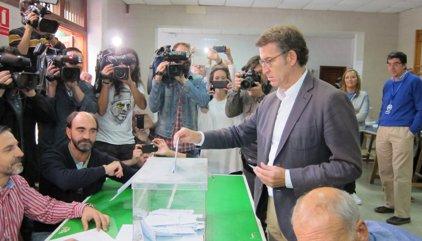 """Feijóo crida a votar perquè Galícia segueixi el seu """"camí de certitud i benestar"""""""