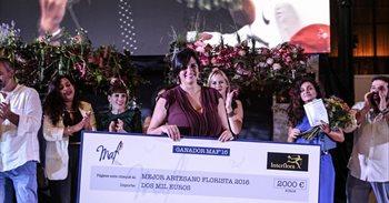 La canaria Yanira Pérez, Mejor Artesana Florista 2016