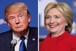 Trump i Clinton se citen aquest dilluns a la televisió en el debat més esperat (EUROPAPRESS)