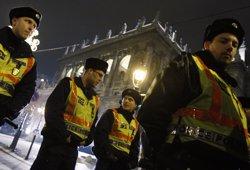 La Policia hongaresa assegura que l'explosió de Budapest buscava ferir agents (REUTERS / BERNADETT SZABO)