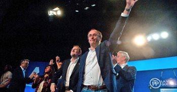 """Alonso destaca el """"magnífico resultado"""" del PP y pide a PSOE que """"tome..."""