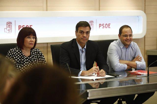 Sánchez quiere convocar ya el 39 congreso federal, con primarias en octubre