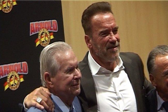 Arnold Schwarzenegger disfruta de Barcelona